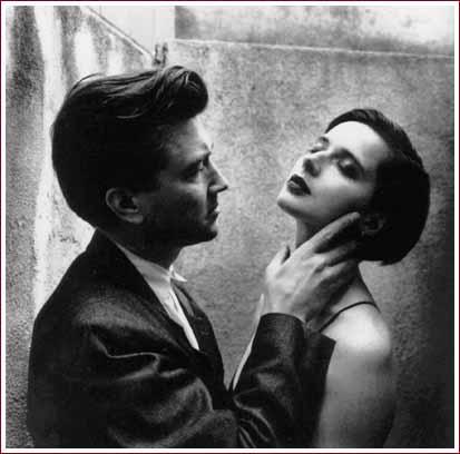 David Lynch and Isabella Rosellini
