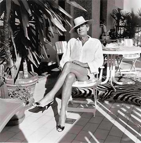 Helmut Newton Self Portrait in High Heels