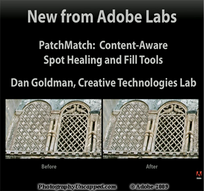 Adobe Photoshop CS5 Content Aware Fill Feature from Adobe Labs