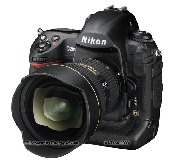 Nikon D3S Full Frame DSLR with Video and High ISO Performance