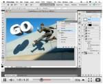 Photoshop CS5 3D Text Repoussé Video - How to Make 3D Text from 2D Text in Photoshop CS5 Extended