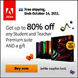 Adobe UK Europe Student Discounts