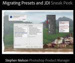 Official Adobe Sneak Peek Video #5 - Migrating Presets and JDI - Just Do It