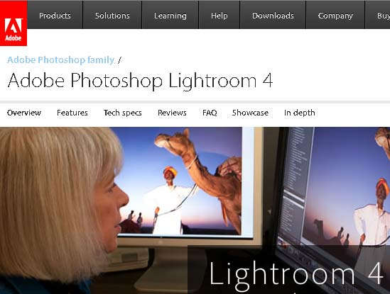 Adobe Photoshop Lightroom 4 Discount Coupon