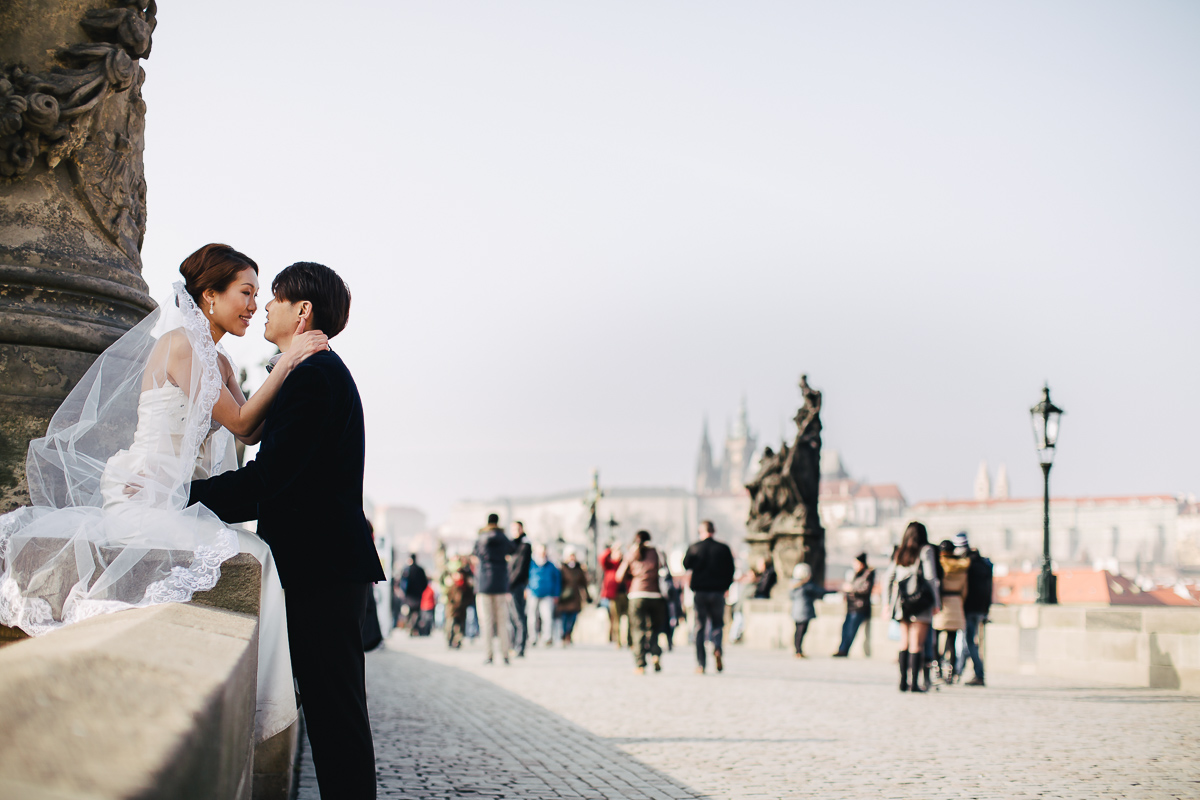 wedding photos in Prague