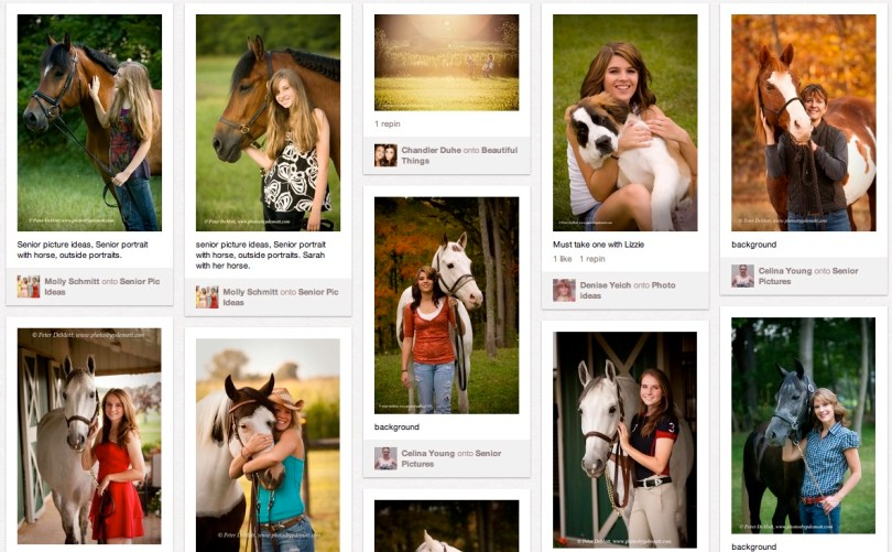 Peter DeMott Photography pins 900x557 Creative family poses, creative senior portraits, creative equine portraits