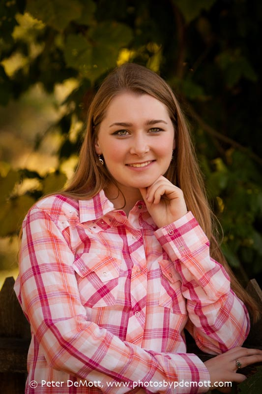 RR3D0053FB Dana and her haflinger (Dayton senior portrait photographer)