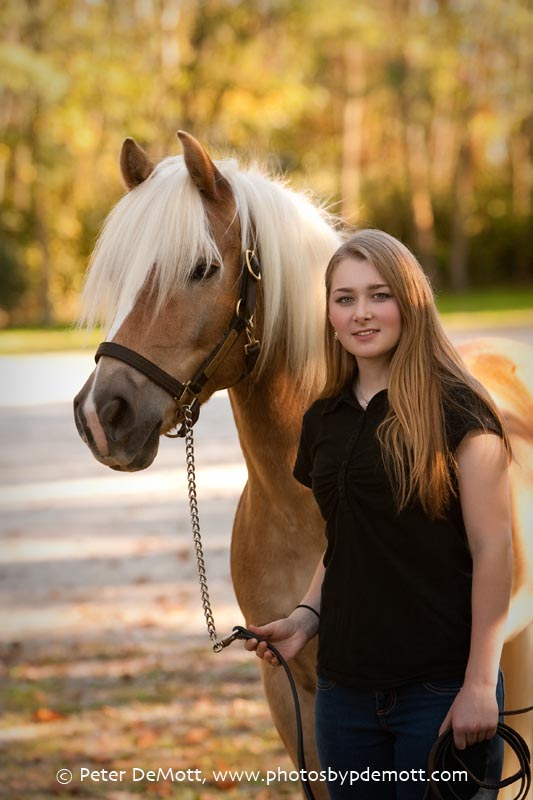 RR3D9959FB Dana and her haflinger (Dayton senior portrait photographer)