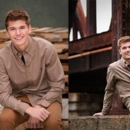Nick's Senior Portraits with an Urban Flavor