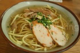 Pork in Okinawa soba in southwest Japan - Great Food
