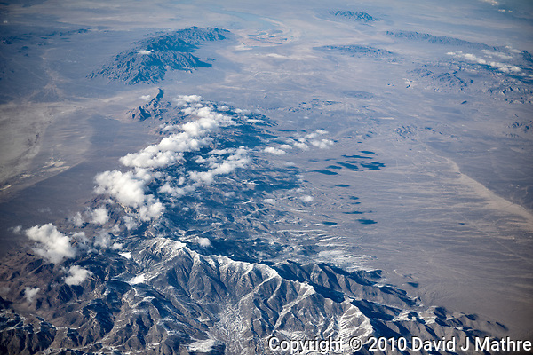 America from the sky. Transcontinental flight from San Francisco to New Jersey. Image taken with a Nikon D3x camera and 50 mm f/1.4 lens  California or Nevada (David J Mathre)