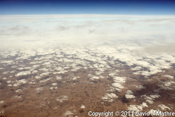Middle America from 30k Feet.  Image taken with a Leica X1 (ISO 100, 24 mm, f/5.6, 1/800 sec). (David J Mathre)