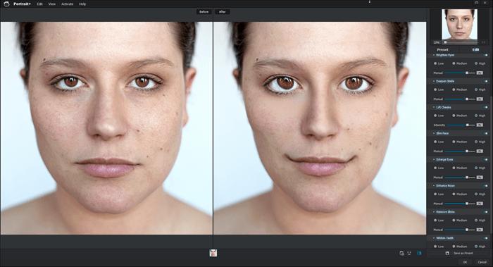 Portrait Enhancements on High
