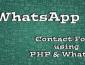 WhatsAPI_PHP_ContactForm