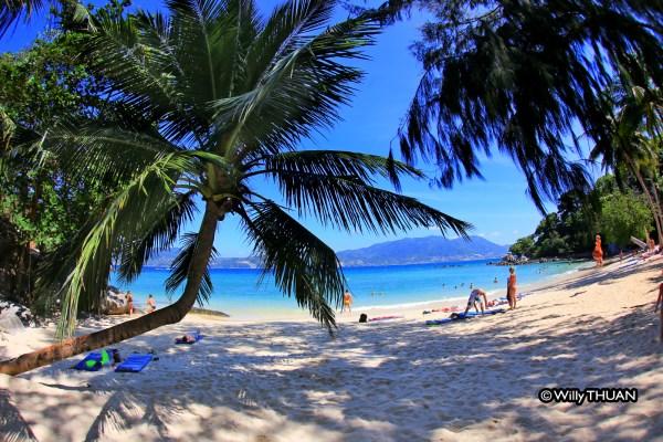 Paradise Beach near Patong Beach in Phuket