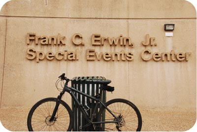 frank erwin events center