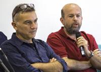 Gilberto Saccorotti e Carlo Meletti