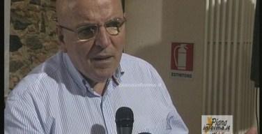 Gioia Tauro intervento di Mario Oliverio candidato Pd alla Regione