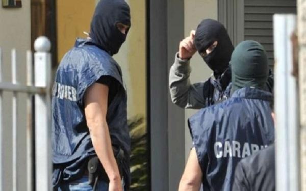 Reggio, arresti a Sinopoli Oppido melito e San Roberto