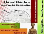 """Rosarno, convegno """"Il Porto ed il retroporto, punti di forza della città Metropolitana"""". Video"""