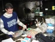 """Guardia Costiera, operazione """"Parigghia"""": sequestrati 9.000 metri di reti illegali e 750 kg di prodotti ittici"""