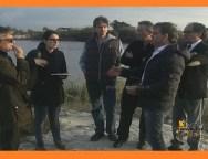 San Ferdinando, sopralluogo dell' Europarlamentare Laura Ferrara al fiume Mesima. VIDEO