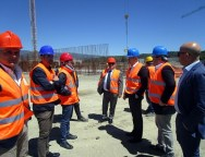 Lamezia, il sindaco sul cantiere del nuovo palazzetto dello sport