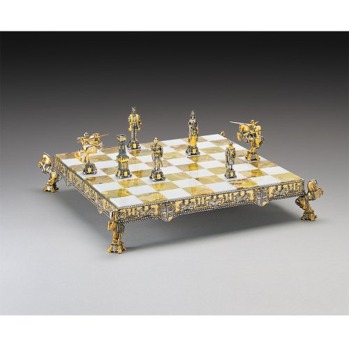 Traditional Categories Medioevale G Silver Med Chess Set Medieval Chess Set Ebay Lladro Medieval Chess Set