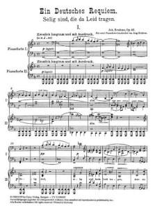 Brahms Requiem for Piano Duo and Choir, Vancouver Peace Choir Brahms Requiem