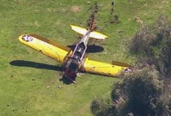 Harrison Ford sufre Accidente Aero