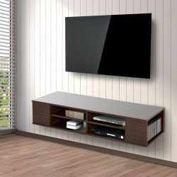 Diverting Shipping See More Homcom Floating Tv Stand Cabinet Wall Mounted Entertainment Center Homcom Floating Tv Stand Cabinet Wall Mounted Entertainment Center
