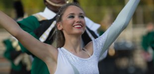 Central Cabarrus Marching Vikings perform For the Beauty of the Earth.