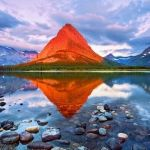 Mount Grinnell, Glacier National Park in U.S.A.