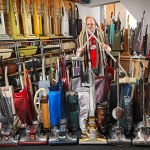 Largest Collection of Vacuum Cleaners James Brown