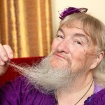 Longest Beard On A Woman Vivian Wheeler