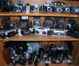 &quot;Owen's Camera Collection&quot;