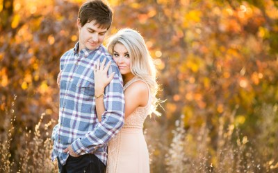 Ashley + Aaron | Downtown Tulsa and Picturesque Studios Engagement