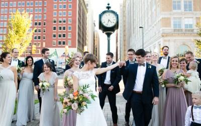 Blair + Andrew | Christ the King Catholic Church Wedding and Rucker's Warehouse Reception Tulsa, Oklahoma