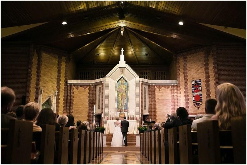 Christ the King Parish Wedding The Bond Reception Tulsa Oklahoma Picturesque Photos by Amanda_0049