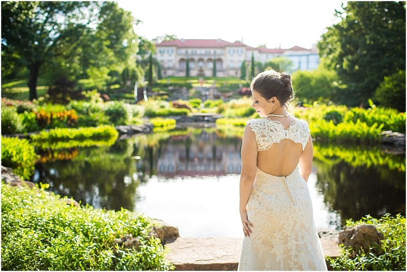 Philbrook Museum of Art Wedding Bridal Picturesque Photos by Amanda_0008