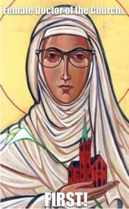 Hipster St Catherine