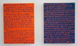Ego Letters (Diptych)