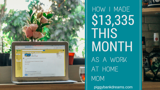How I made ,335 as a work at home mom