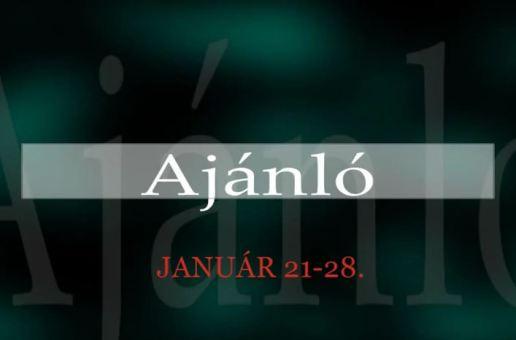 Műsoraink 2014. január 21-28.