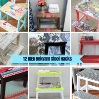 12 IKEA Bekvam Stool Ideas