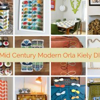 Mid Century Modern Orla Kiely DIY's