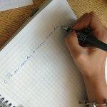 La escritura a mano no debe desaparecer