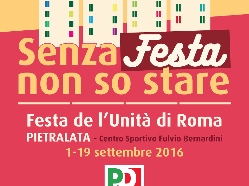 Festa PD Roma