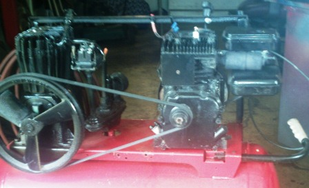 Projects With Lawn Mower Engines Air Compressor