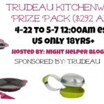 Trudeau Kitchenware Prize Pack Giveaway {US   Ends 05/06}